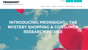 Proinsight Homepage